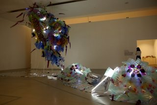Urban Creature creations by Lee ByungChan. Natural History Museum in Seoul, 2014