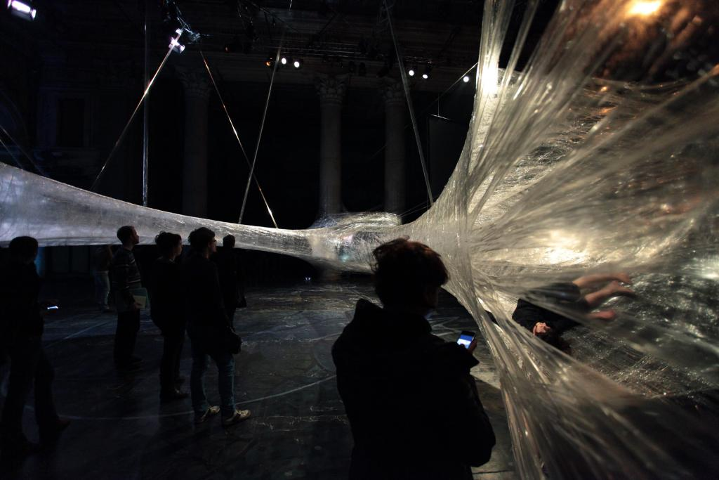 Tape Vienna installation. Inside project by Numen/For Use. Vienna 2010