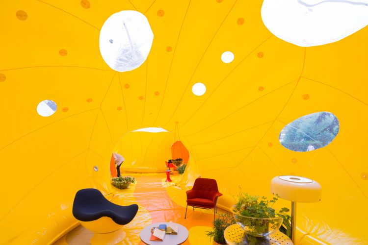 Second Dome installation by Dosis Studio. London 2016.